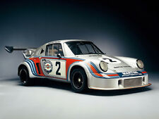 "PORSCHE CARRERA RSR - MARTINI RACING  30"" X 20""  LARGE POSTER - PHOTOGRAPHY"
