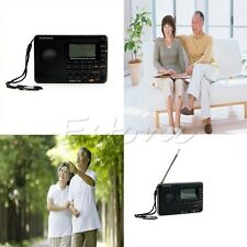 Digital Tuning LCD Receiver TF MP3 REC Player AM FM SW Full Band Radio FAS