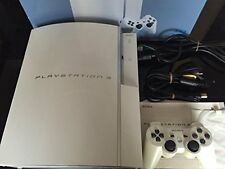 PlayStation 3 PS3 Console System 40gb Ceramic White Japan *GOOD COND - COMPLETE*