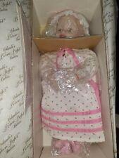 """Yolanda Bello Ashton Drake """"Sarah� Porcelain Numbered Collectible Baby Doll Nib"""