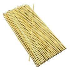 100 Bamboo Spiedini BBQ Kebab in Legno Carne COOK GRILL BARBECUE CAMPEGGIO legno Spiedino