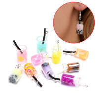 10Pcs/set Mixed Milk Tea Resin Charms Craft DIY Earrings Pendant Jewelry Maki.BC