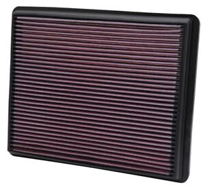 K&N 33-2129 Direct-Fit Air Filter Element 2000-2016 Chevrolet Suburban Tahoe