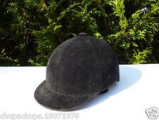 ♥ Équipements De Cheval Équitation Bombe Casque Taille 52 Sierra