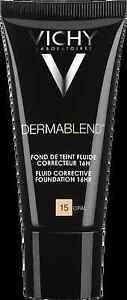 Vichy Dermablend Fluid Corrective Foundation SPF35 OPAL GENUINE & NEW