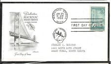 US SC # 1109 Mackinac Bridge FDC . Artmaster Cachet