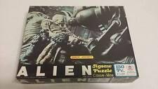 "1979 vintage Alien Jigsaw Puzzle Hg Toys Space Jockey 10x14"" No 471-02"