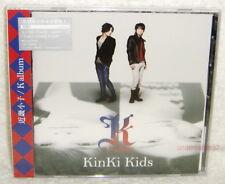 J-POP KinKi Kids K Album Taiwan CD only +24P (w/bonus 2 tracks)