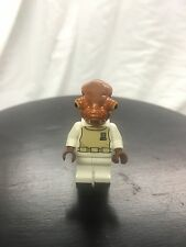 Authentic LEGO Star Wars Admiral Ackbar Minifigure sw247 7754 75003