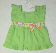 NWT Gymboree Butterfly Blossoms Woven A-Line Pintuck Top Size 3-6 M