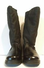 "TOTES ""Paulette"" #720356 Women's Black Mid-Calf Winter Boots Side Zip Sz 7 M"