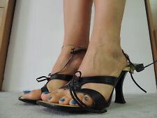 Sandalo Allacciato Used Shoes Fetish Heels