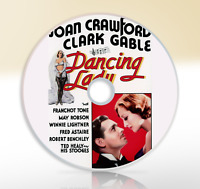 Dancing Lady (1933) DVD Classic Musical Movie / Film Joan Crawford Clark Gable
