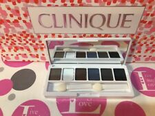 CLINIQUE ALL ABOUT SHADOW PALETTE, Smoke Mirror Gray Blue Nude Octet Starlight