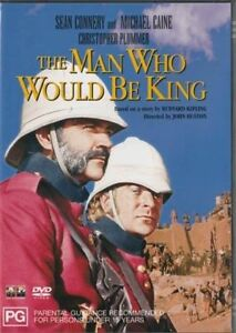 The Man Who Would Be King DVD Sean Connery New and Sealed Australian Release