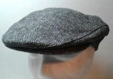 27162e27124 Stetson Men s Small 100% Wool Herringbone Newsboy Flat Cap Hat Golf USA
