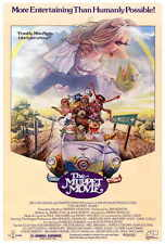 THE MUPPET MOVIE Movie POSTER 27x40 C CAMEO(S) Edgar Bergen Milton Berle Mel