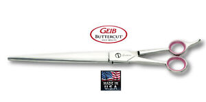 "Geib Gator Buttercut Professional STRAIGHT Shear 10""Scissor LEFT HANDED Grooming"