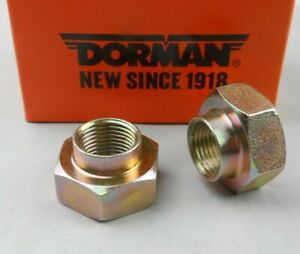 """Axle Spindle Nut   """"Box of 2 Nuts"""" Dorman"""