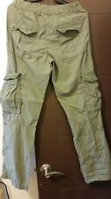 L.O.G.G. H&M six pocket pants (size 30-green)
