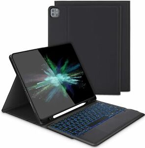 Keyboard Case with Touchpad for iPad Pro 12.9 5th Gen 2021 Release
