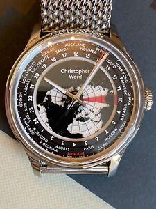 Christopher Ward C1 Worldglow. JJ03 Automatic. Unworn.