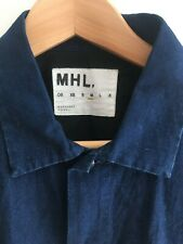Margaret Howell Blue Short Sleeve Shirt - Medium