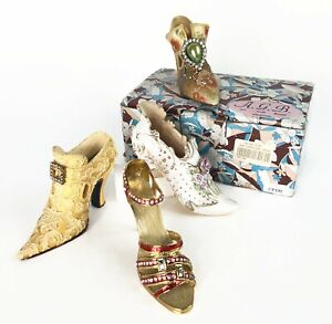 Miniature Decorative Collectible Fashion European Shoes from France & Germany