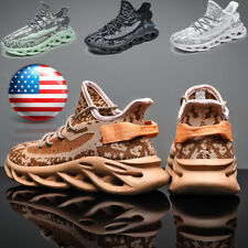 Fashion Men's Athletic Running Sneakers Sports Jogging Tennis Shoes Walking Gym