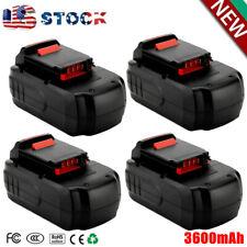 4X For Porter Cable Pc18B 3.6Ah Ni-Mh Pcmvc Pcxmvc Pcc489N Cordless Battery Pack