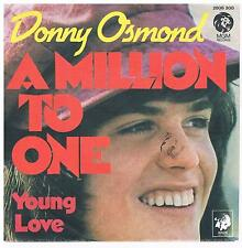 """Donny Osmond-A million to one/Young love/7"""" Single von 1973"""