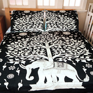 Indian Mandala Duvet Cover Boho Bedding Set Doona Quilt Cover With Pillow Covers