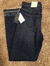 NWT Universal Thread Women's Mid-Rise Boyfriend Jeans, Frayed Hem, Size 4