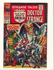 STRANGE TALES #161 STERANKO NICK FURY ADKINS DR STRANGE Marvel Silver Age!