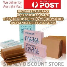 FROWNIES Wrinkle Remover Facial Patches 8 + 12 + 6 = 26 pcs. Patches NEW NO BOX