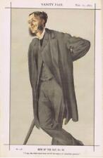 Vanity Fair Print : Matthew Arnold 1871 / Literary + Copy of Bio