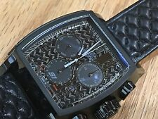 22382 Invicta Tonneau JT S1 Rally LTD Swiss Quartz Chrono Leather Strap Watch