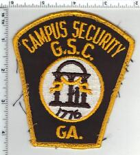 Georgia State College Security Uniform Take-Off Shoulder Patch from the 1980's