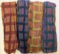 Sciarpa da donna multicolore in poliestere