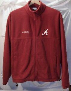 University of Alabama Crimson Tide Columbia Embroidered Fleece Jacket XL