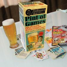Gentlemans Club Pint pot of games  includes drinking Glass and various Games