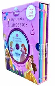 Disney Princess 5-Book and Read-along CD Slipcase Set - Contains - ... by Disney