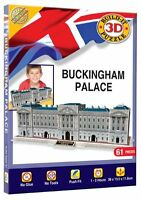 BUCKINGHAM PALACE 3D PUZZLE Construction Kit Gift Jigsaw Toy Kids Mens Womens