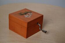 Cajita musical madera - wood music box - Let it be - Beatles