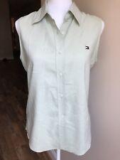 Tommy Hilfiger Woman Shirt Bouse Sleeveless Womens L