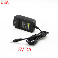 2A 5V AC DC Wall Charger Power Adapter Cord for RCA RCT6378W2 Android Tablet PC