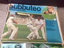 Vintage Subbuteo Table Top Game Cricket Club Edition - RARE 1970's Plus Extras