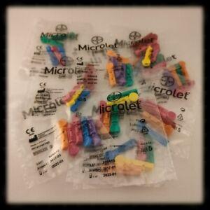 50 Stück Lanzetten Microlet ⚠️ Original ⚠️ NEU ⚠️ OVP ⚠️