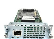 Cisco NIM-1MFT-T1/E1 1-Port Multi-flex Trunk Voice/Clear-channel Data T1/E1