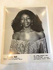 1980 8 x 10 Photo Signed Autographed Singer ARLENE BELL